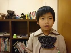 立川市のお子さん Kくん、6才