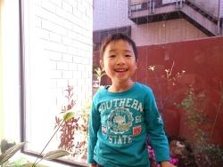 立川市のお子さん H君6才