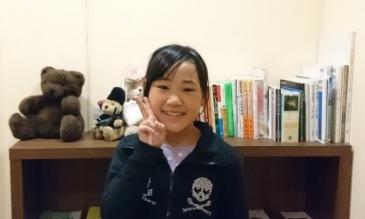 Mちゃん、9才(立川市のお子さん)