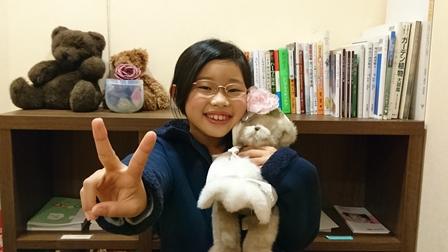 昭島市のAちゃん、8才
