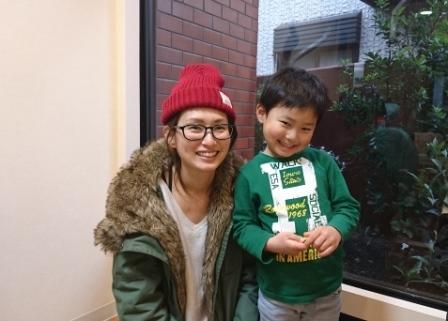 立川市のお子さんSくん、4才